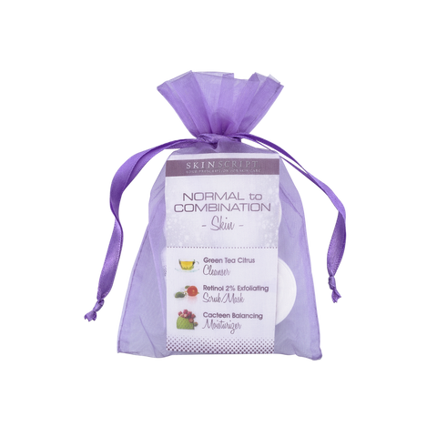 Skin Script Normal/Combination Skin Sample Bag