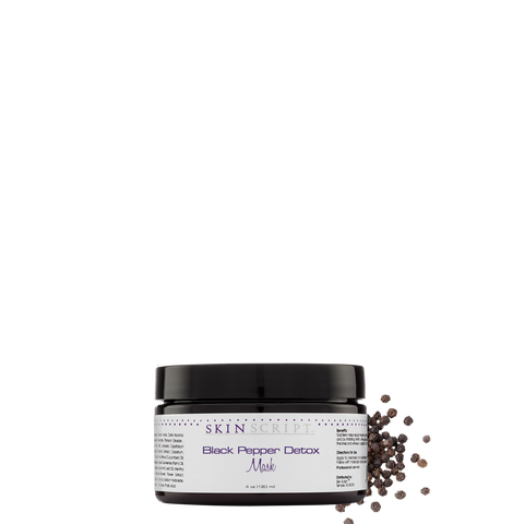 Skin Script Black Pepper Detox Mask (Limited Edition) 4oz.