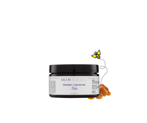 Skin Script Golden Caramel Mask (Limited Edition) 4 oz.