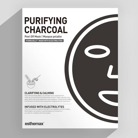 Esthemax Hydrojelly Mask - Purifying Charcoal