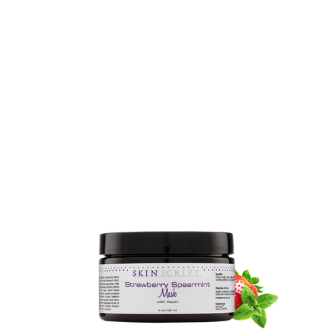 Skin Script Strawberry-Spearmint Mask