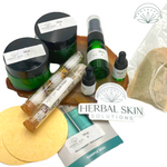 Herbal Skin Solutions (Stay-At-Home Spa Day Sampler Kit)