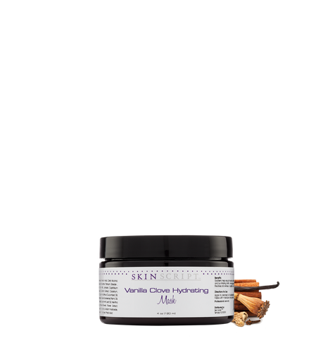 Skin Script Vanilla Clove Hydrating Mask (Limited Edition) 4oz.