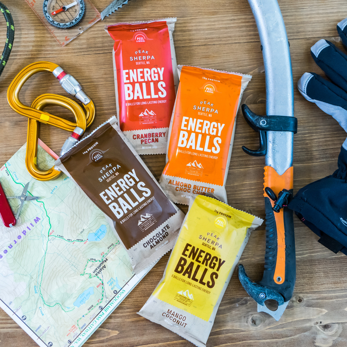 Announcing Launch of Peak Sherpa Energy Balls: The Energy Bar Redefined