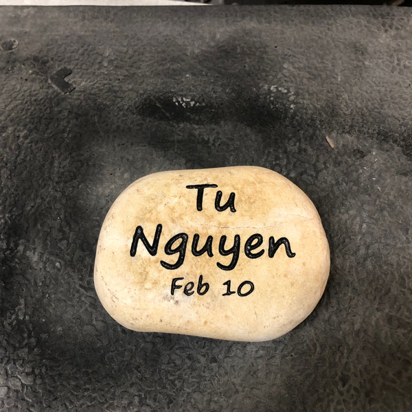 Personalized Stone Engraving