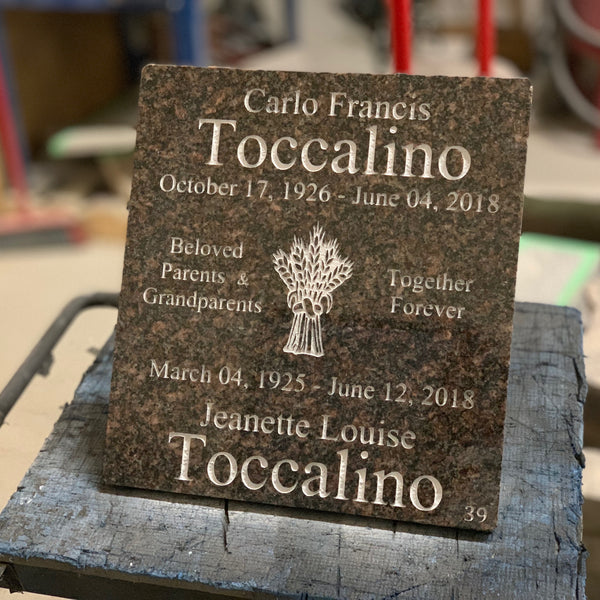 Custom Stone Engraving