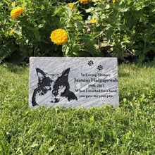 Load image into Gallery viewer, Pet grave stones