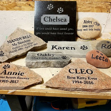 Load image into Gallery viewer, Pet Memorial Stones Canada