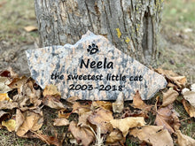 Load image into Gallery viewer, Pet memorial stones Ontario