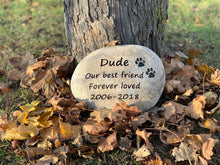 Load image into Gallery viewer, Pet memorial stones Alberta