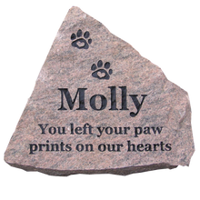 Load image into Gallery viewer, Pet Memorial Stone
