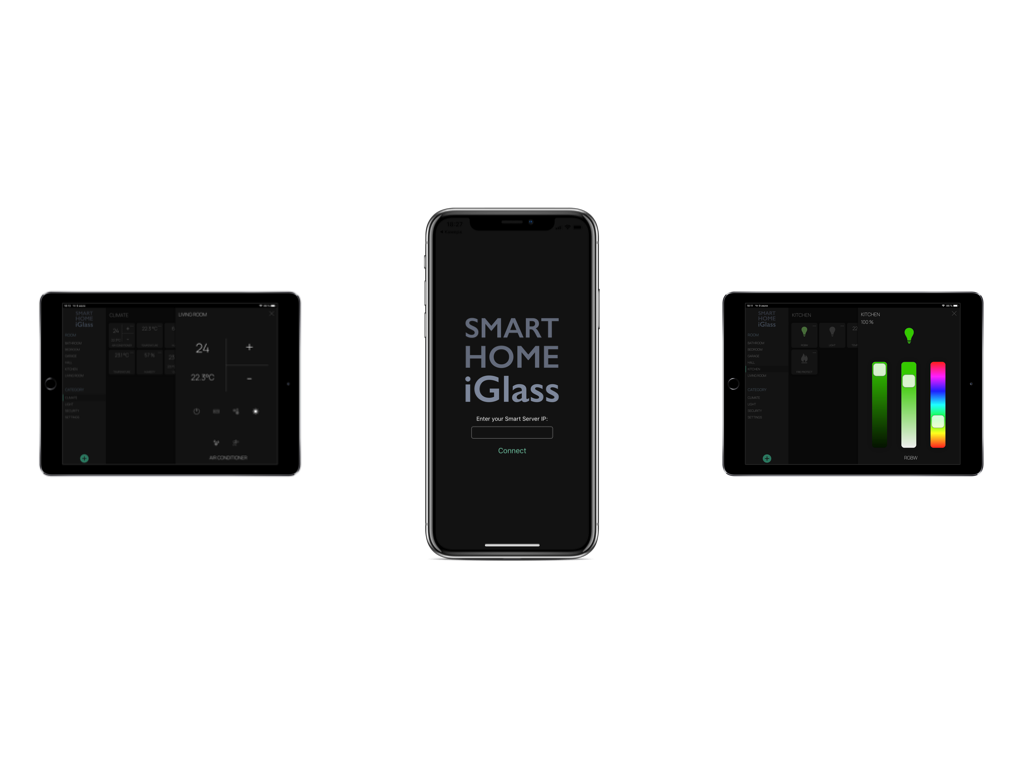 iGlass Artificial Intelligence Smart Home