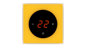 Glass Thermostat T-Type - YELLOW RICH