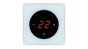 Glass Thermostat T-Type - BLUE PASTEL