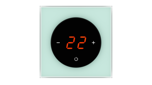 Glass Thermostat T-Type - GREEN PASTEL