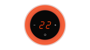 Glass Thermostat R-Type - ORANGE CLASSIC