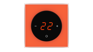 Glass Thermostat T-Type - ORANGE CLASSIC
