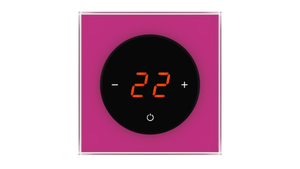 Glass Thermostat T-Type - FUCHSIA