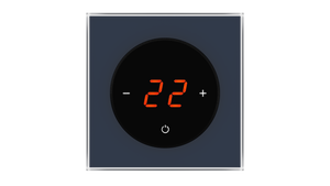 Glass Thermostat T-Type - BLUE PETROL