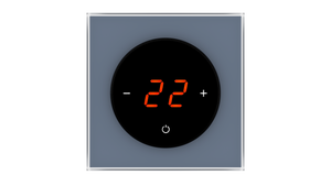 Glass Thermostat T-Type - BLUE SHADOW