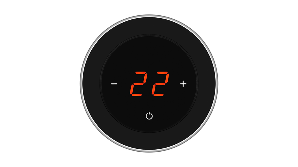 Glass Thermostat R-Type - BLACK CLASSIC