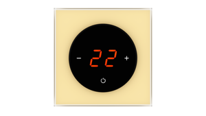 Glass Thermostat T-Type - BEIGE CLASSIC