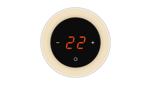 Glass Thermostat R-Type - BEIGE LIGHT