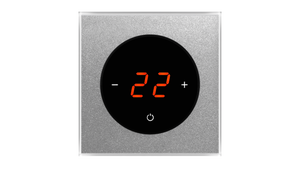 Glass Thermostat T-Type - ALUMINIUM RICH