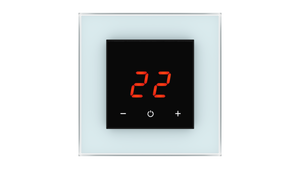 Glass Thermostat O-Type - BLUE PASTEL