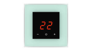 Glass Thermostat O-Type - GREEN PASTEL