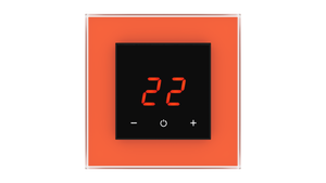 Glass Thermostat O-Type - ORANGE CLASSIC