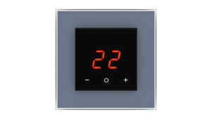 Glass Thermostat O-Type - BLUE SHADOW