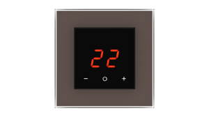 Glass Thermostat O-Type - BROWN NATURAL