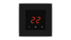 Glass Thermostat O-Type - BLACK CLASSIC