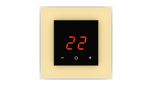 Glass Thermostat O-Type - BEIGE CLASSIC