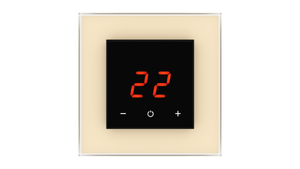 Glass Thermostat O-Type - BEIGE LIGHT