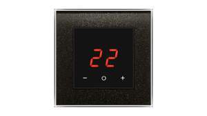 Glass Thermostat O-Type - BLACK STARLIGHT