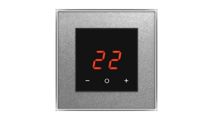 Glass Thermostat O-Type - ALUMINIUM RICH