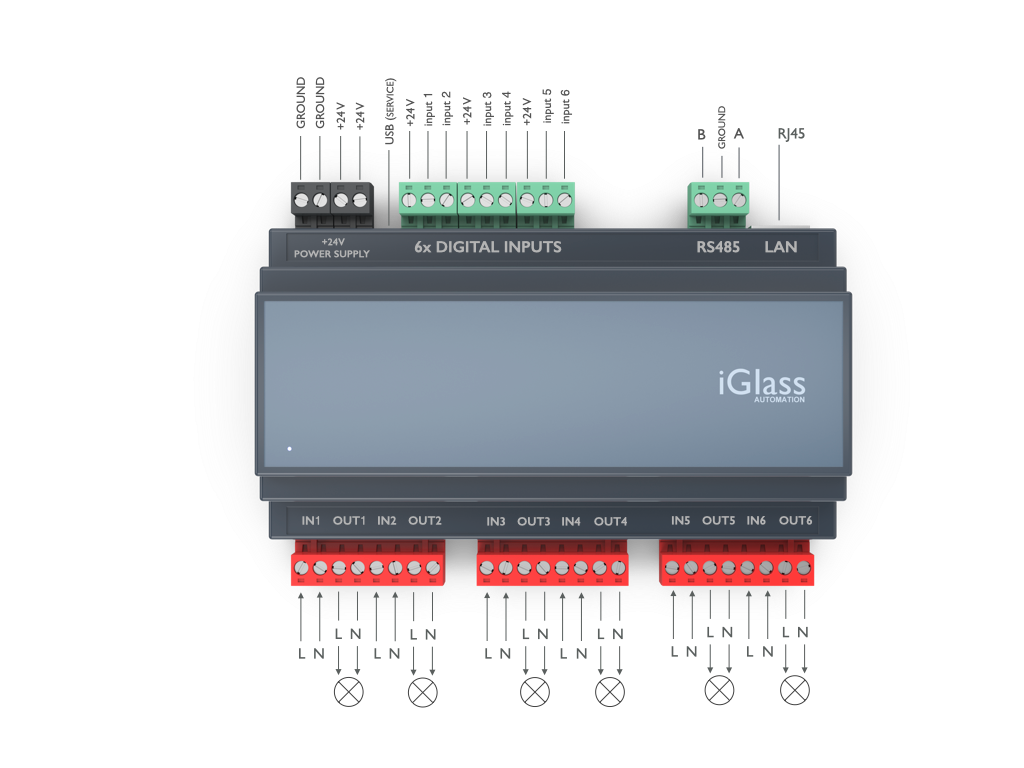 iGlass Smart Block D6 Dimmer