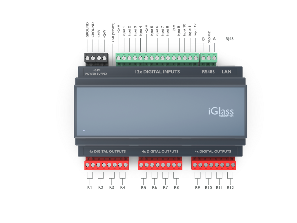 iGlass Smart Block R12 Relay