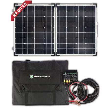ENERDRIVE 160W Folding Solar Panel Kit (BW-SPF-EN160W)