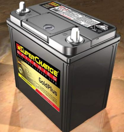 SUPERCHARGE GOLD-PLUS Automotive Battery MF40B20L (390CCA) IN-STORE PICK UP ONLY