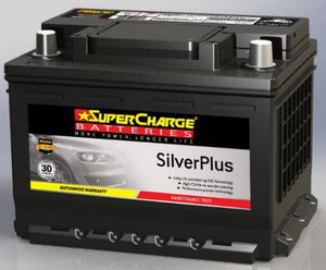 SUPERCHARGE SILVER-PLUS (European Automotive) Battery SMF53L (530CCA)
