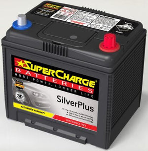 SUPERCHARGE SILVER-PLUS Automotive Battery SMF55D23L (530 CCA)