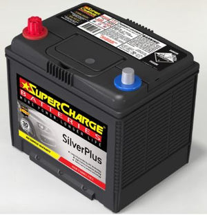 SUPERCHARGE SILVER-PLUS Automotive Battery SMF55D23R (530 CCA)