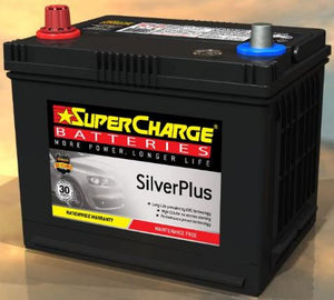 SUPERCHARGE SILVER-PLUS Automotive Battery SMF57 (550 CCA) IN-STORE PICK UP ONLY