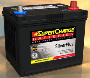 SUPERCHARGE SILVER-PLUS Automotive Battery SMF58VT (550 CCA)