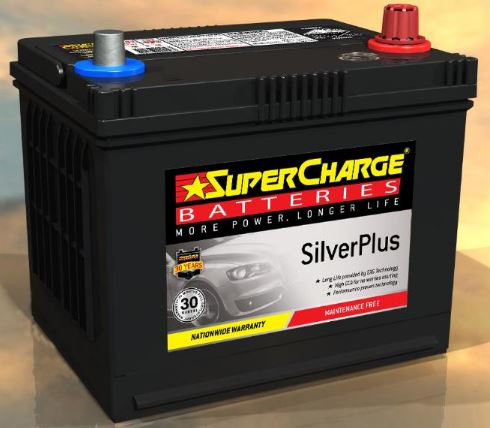 SUPERCHARGE SILVER-PLUS Automotive Battery SMF58VT (550 CCA) IN-STORE PICK UP ONLY