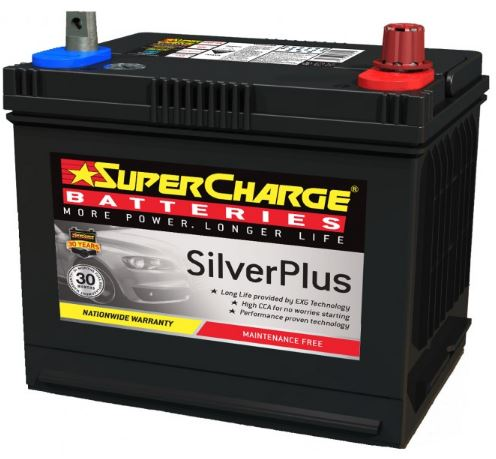 SUPERCHARGE SILVER-PLUS Automotive Battery SMF58 (550 CCA)