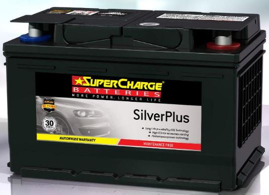 SUPERCHARGE SILVER-PLUS (European Automotive) Battery SMF65L (640CCA)